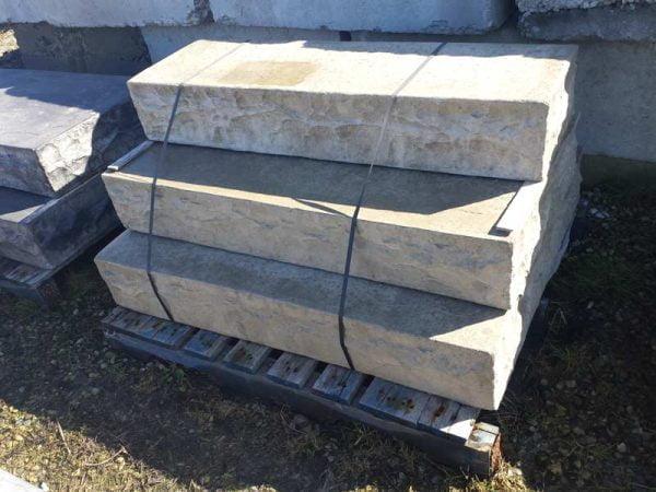 Concrete chisel steps